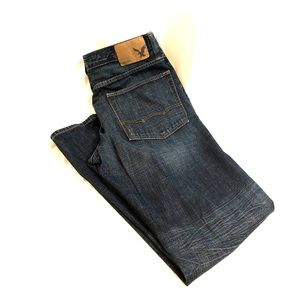 Like New American Eagle Relaxed Straight Jeans